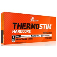 Thermostim Hardcore - 60 Cápsulas - Olimp Sport