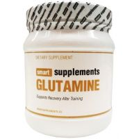 Glutamina Polvo de 500 g de Smart Supplements
