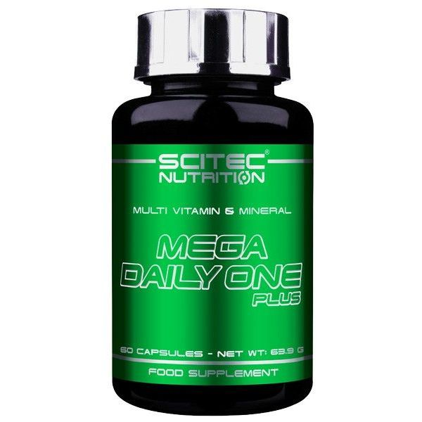 Mega Daily One Plus - 60 capsules