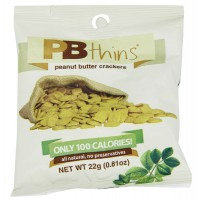 Pbthins cracker 100 calories - 22 g