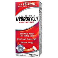 Pro clinical hydroxycut - 72 caps