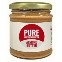 Almond butter pure organic - 250g- Buy Online at MOREmuscle
