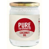 Coconut oil pure organic - 450g - Kaufe Online bei MOREmuscle