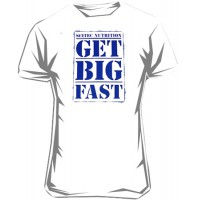 T-shirt New Get Big Fast