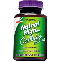 High Caffeine 200 mg - 100 tabs