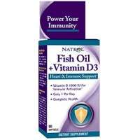 Fish Oil + Vitamina D3 - 90 caps