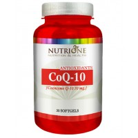 Coenzyme Q10 30mg - 30 softgel- Buy Online at MOREmuscle