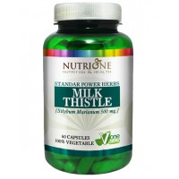 Milk thistle 500mg - 60 caps- Buy Online at MOREmuscle