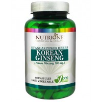 Korean ginseng 500mg - 60 caps - Kaufe Online bei MOREmuscle