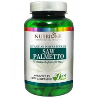 Saw palmetto 250mg - 60 caps