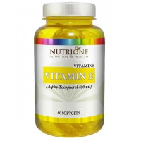 Vitamina E 400mg - 60 softgels