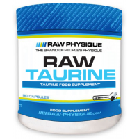 Raw taurin - 90 caps - Kaufe Online bei MOREmuscle