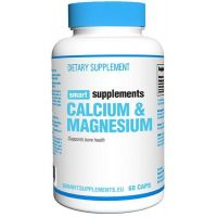 Calcio e Magnesio - 60 Capsule - Smart Supplements