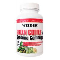 Green Coffee + Garcinia Camboia 90 caps - Weider