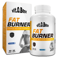 Fat burner triple action - 90 caps - VitoBest