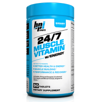 24/7 Muscle Vitamin Energizante - 90 Tabletas [BPI]
