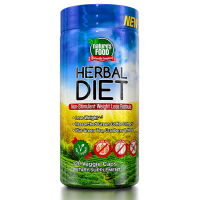 Herbal Diet - 120 Cápsulas Vegetales [Natures Food]- Compra online en MASmusculo