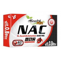 NAC 600mg - 60 capsules - Faites vos achats online sur MASmusculo