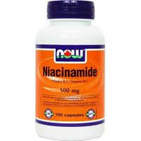 Niacinamide 500mg - 100 caps - Faites vos achats online sur MASmusculo