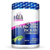 100% all natural pea protein isolate - 454 g - Haya Labs