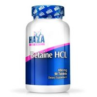 Betaine hcl 650mg - 90 tabs - Haya Labs