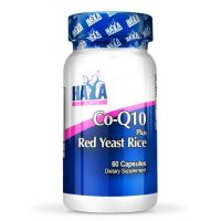 Co-q10 60mg and red yeast rice 500mg - 60 caps - Haya Labs