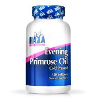 Evening primrose oil cold pressed 500mg - 120 softgels - Haya Labs