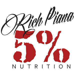 Logo Rich Piana 5% Nutrition